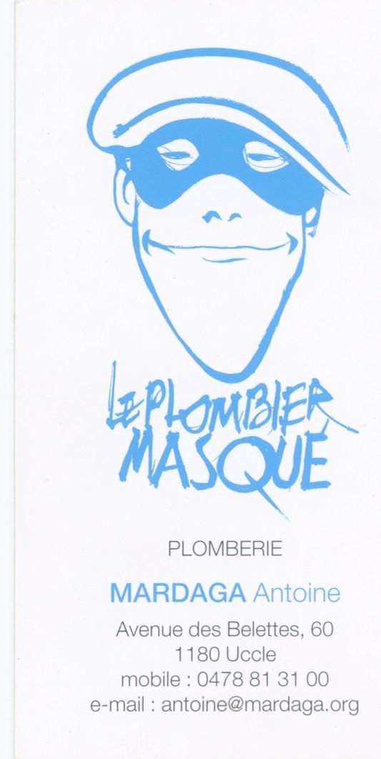 plombier masqué