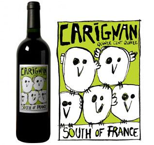 Carignan, vin rouge biologique