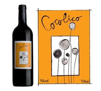 Cocolico, vin rouge biologique