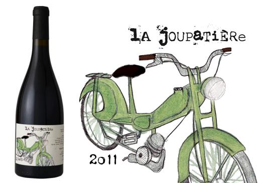 La Joupatière, vin rouge biologique