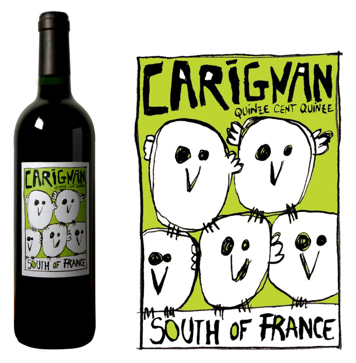 Vin rouge biologique des corbières, Colline de l'hirondelle